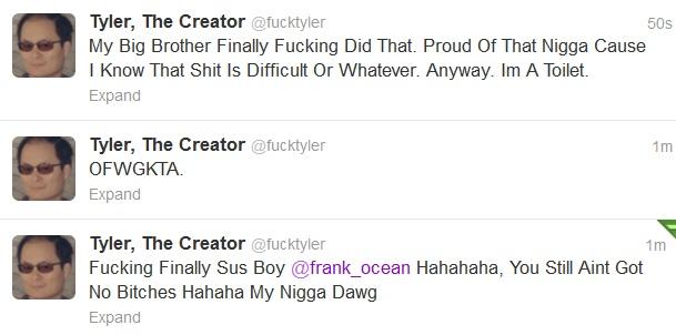 Frank ocean bisexual twitter